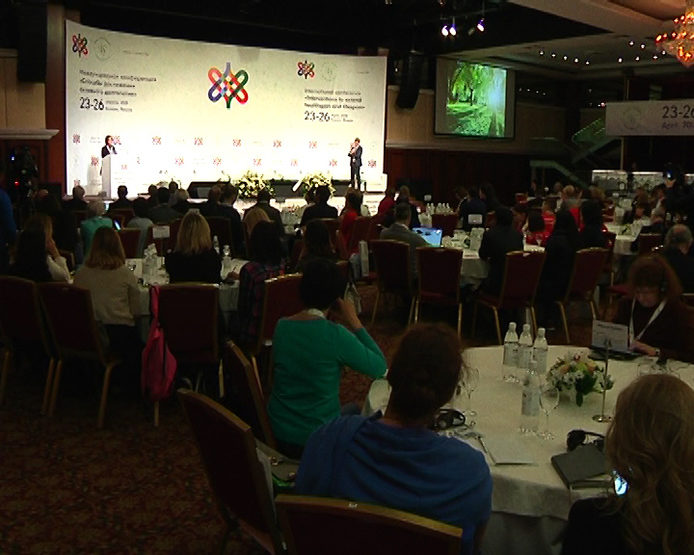 "The opening of the V International Conference ""Ways to achieve active longevity"""