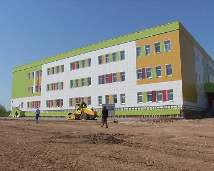 """A new school will open in the RC """"Svetlaya Dolina"""" on September 1"""