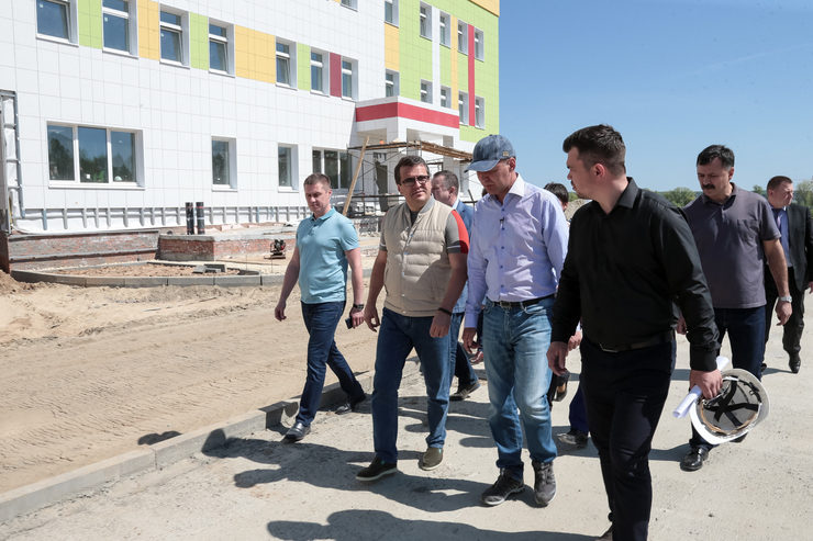 "The school in the RC ""Svetlaya Dolina"" will receive the first 600 pupils in the new school year"
