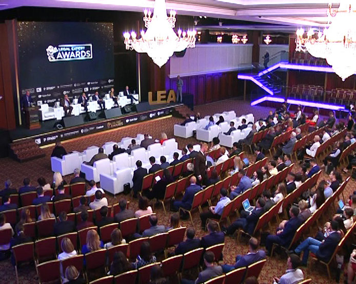 The Assembly of Legal Expert Awards is taking place in Kazan.
