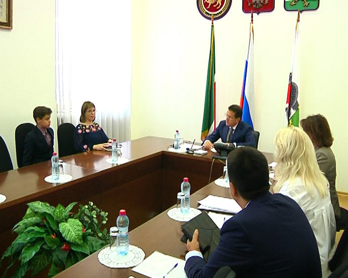 Ilsur Metshin held a reception of citizens at the Kazan Executive Committee