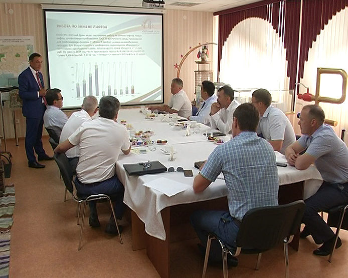 "The report of the Management Company ""Uytny Dom"" to the Mayor of Kazan"