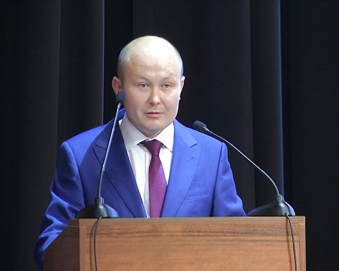 Выступление И.Хидиятова на пленарном заседании городской августовской конференции, 27.08.2018