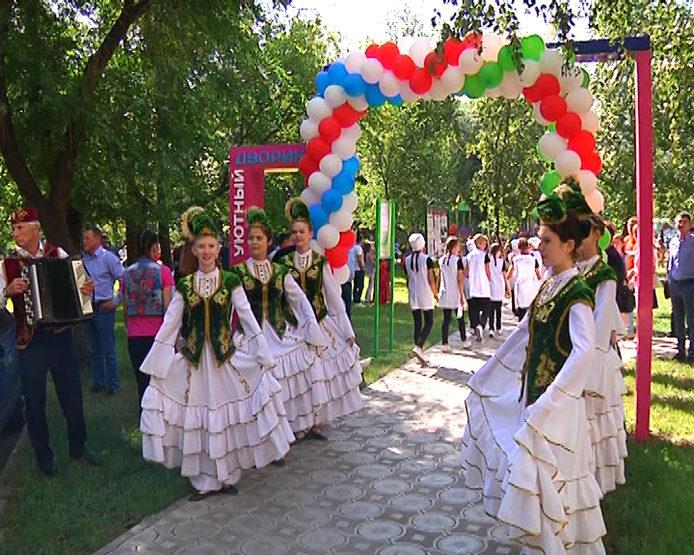 Праздник двора в Ново-Савиновском районе, 30.08.2018