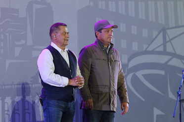 Rustam Minnikhanov and Ilsur Metshin visited a festive concert in honor of the Day id the City and the Republic