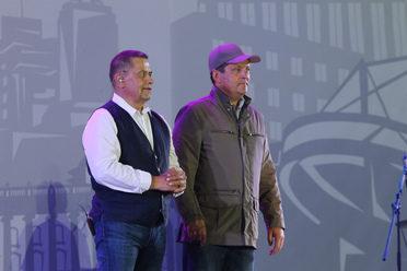 Рустам Минниханов и Ильсур Метшин посетили праздничный концерт в честь Дня города и республики