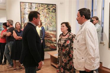 «Аксенов-фест» расширяет свои границы: в Казани открылась выставка картин Нателлы Тоидзе