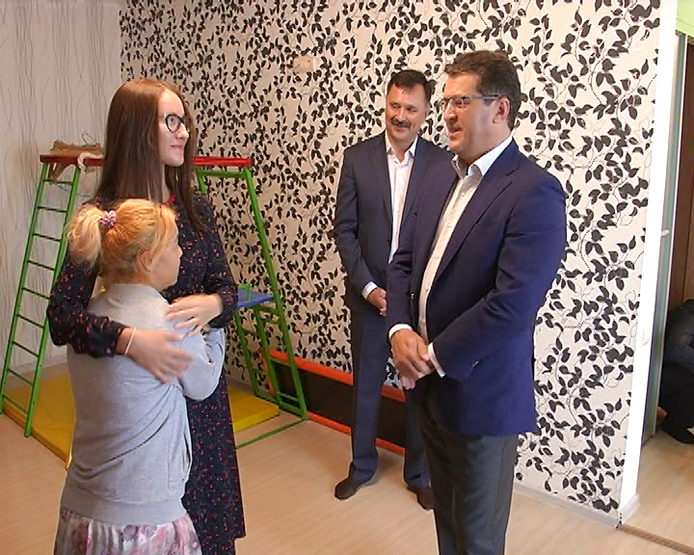 "The Mayor of Kazan visited the branch of the social house ""Kolybel"""