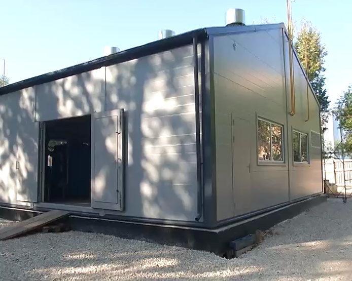 I. Metshin inspected the new boiler house on Portovaya Street, №17