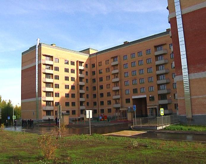 """The house №5 in the residential complex """"MChS"""" has been commissioned"""