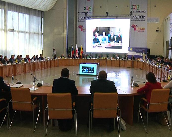 The Meeting of the Association of Cities of the Volga Region, Cheboksary, 10/05/2018