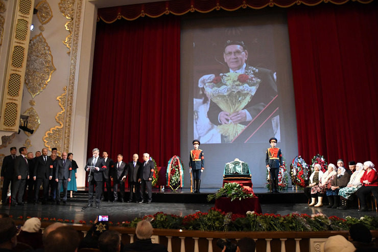 Kazan has bid farewell to the legendary singer, 01/18/2019