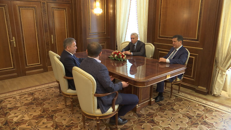 The Mayor of Kazan met with the delegation from the Republic of Bashkortostan