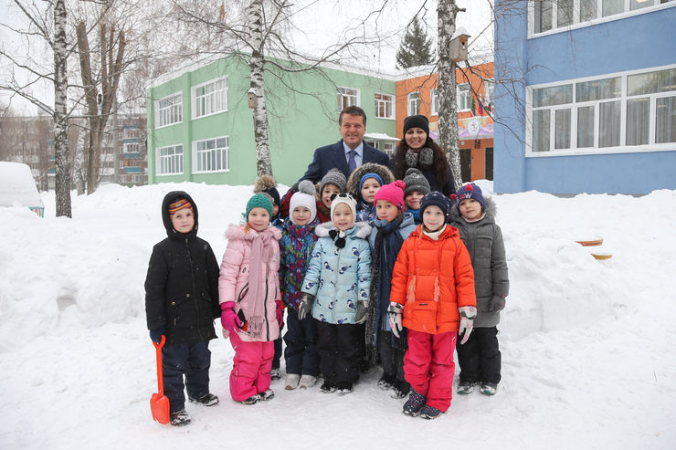 Ilsur Metshin assessed the quality of the overhaul in the kindergarten №203