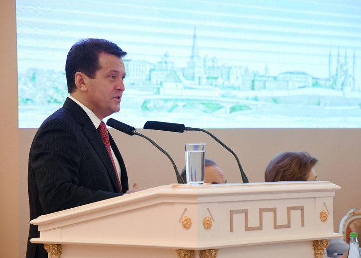 "I. Metshin: ""Together we will make our Kazan beautiful"""