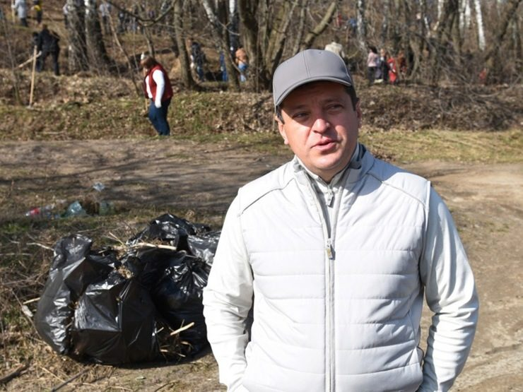 I. Metshin about the upcoming general cleaning of the city