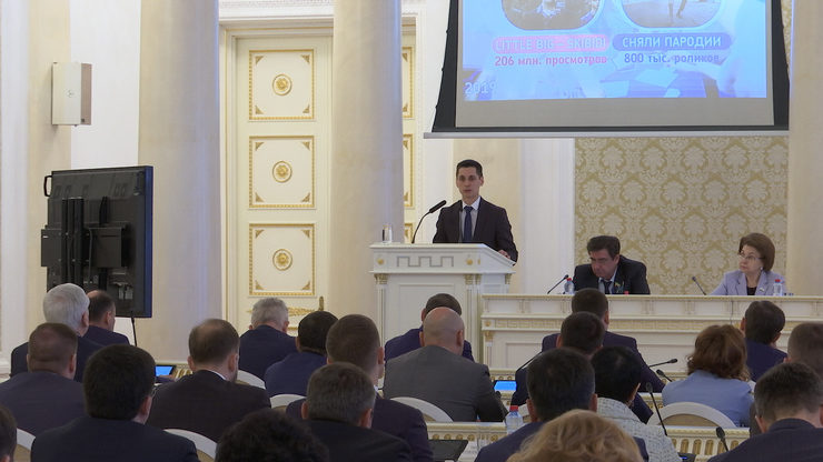 The issues of state youth policy implementation in Kazan were discussed at the XXXIII session of Kazan City Duma