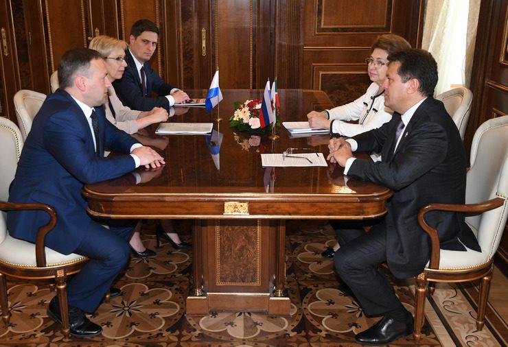 Мэр Казани встретился с главой Великого Новгорода
