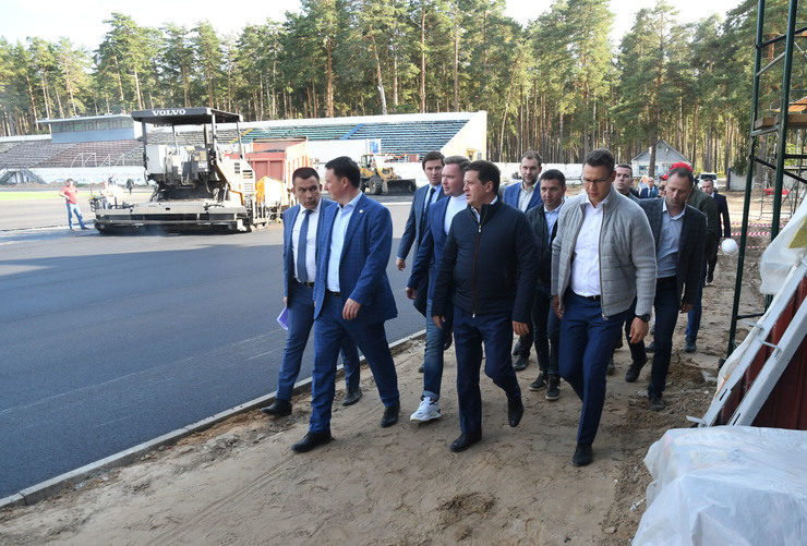 "The mayor of Kazan inspected the reconstruction of the ""Lokomotiv"" stadium"