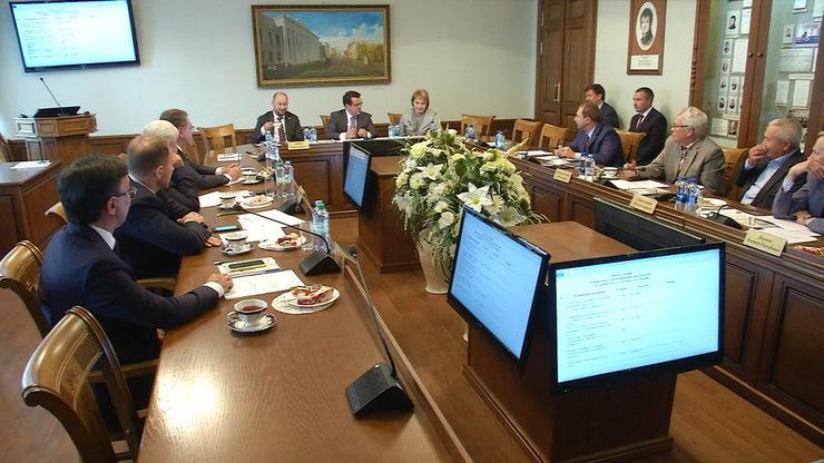 Заседание Попечительского совета юрфака КФУ, 18.09.2019