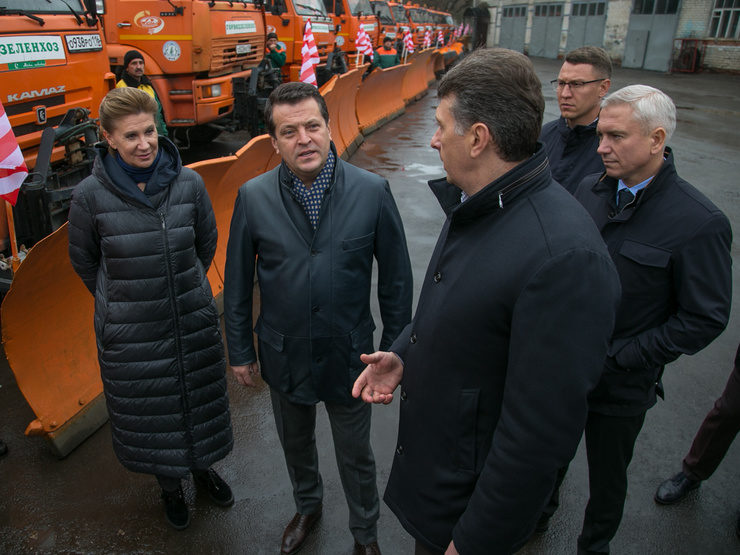 The mayor of Kazan checked the readiness of the road services to operate in winter mode