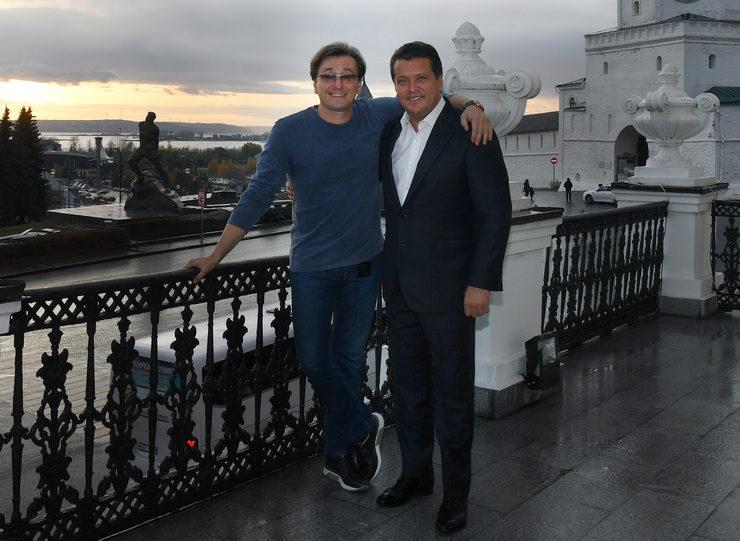 Ilsur Metshin met with Sergey Bezrukov