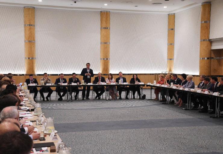 Заседание Евразийского совета ОГМВ, Дурбан (ЮАР), 14.11.2019