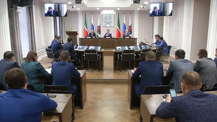 Заседание городского штаба по вопросам внедрения раздельного сбора твердых коммунальных отходов, 19.11.2019