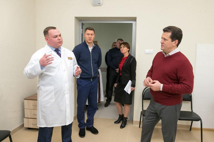 И.Метшин посетил обновленную поликлинику в Адмиралтейской слободе, 20.11.2019