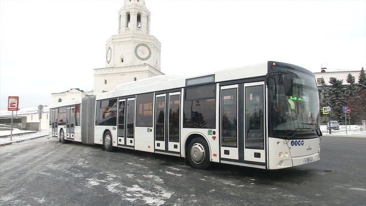 New MAZ buses to be tested in Kazan