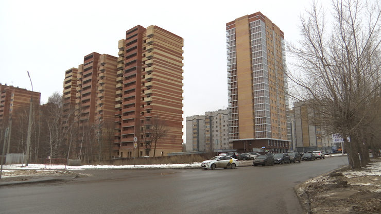"""The construction of the first house of the residential complex """"Molodezhny"""" completed, 10.12.2019"""