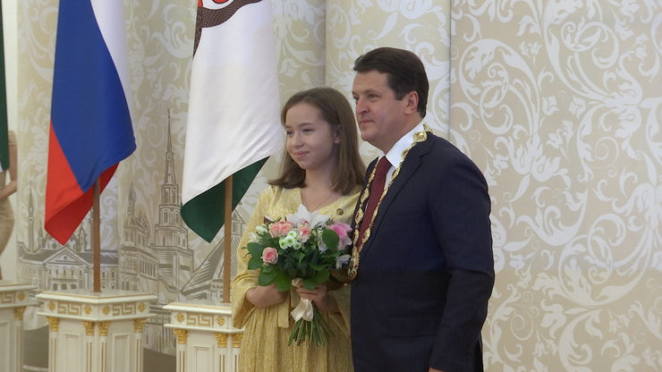 Awarding of personal scholarships of the mayor of Kazan as of year-end 2019