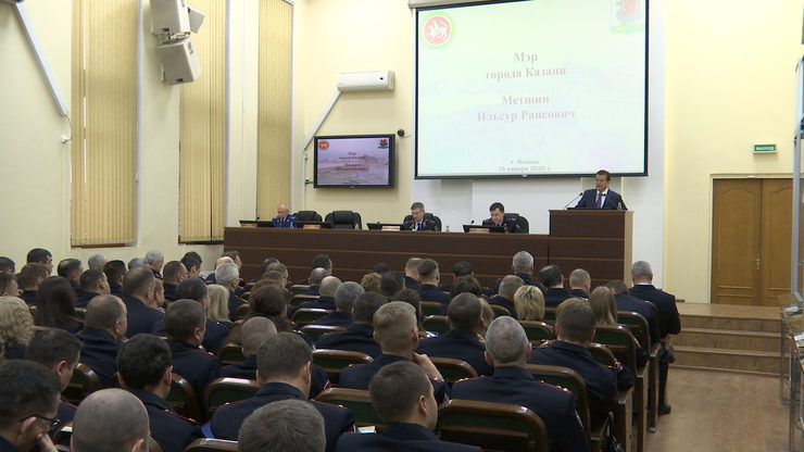 Results of 2019 were summed up at a meeting of the Department of the Russian Internal Affairs Ministry in Kazan