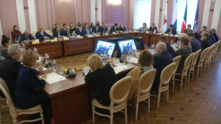Meeting of the United Russia's local Political Council, 23.01.2020