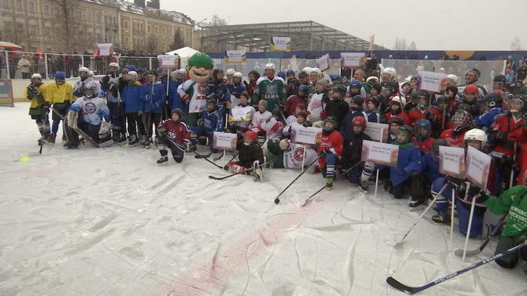 В Казани стартовал городской этап соревнований «Золотая шайба»