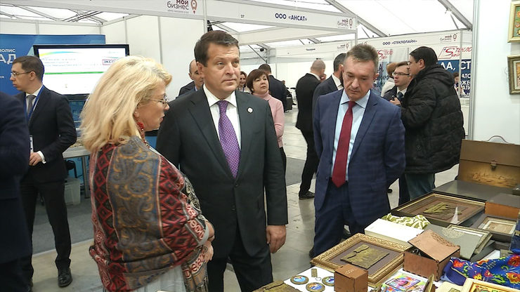 I.Metshin met representatives of small business and self-employed, 20.02.2020