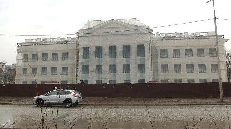 И.Метшин ознакомился с реконструкцией ДК им.Саид-Галиева