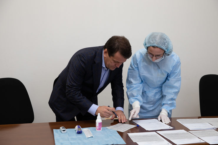 Казан Мэрының коронавируска тапшырган тест нәтиҗәсе - тискәре