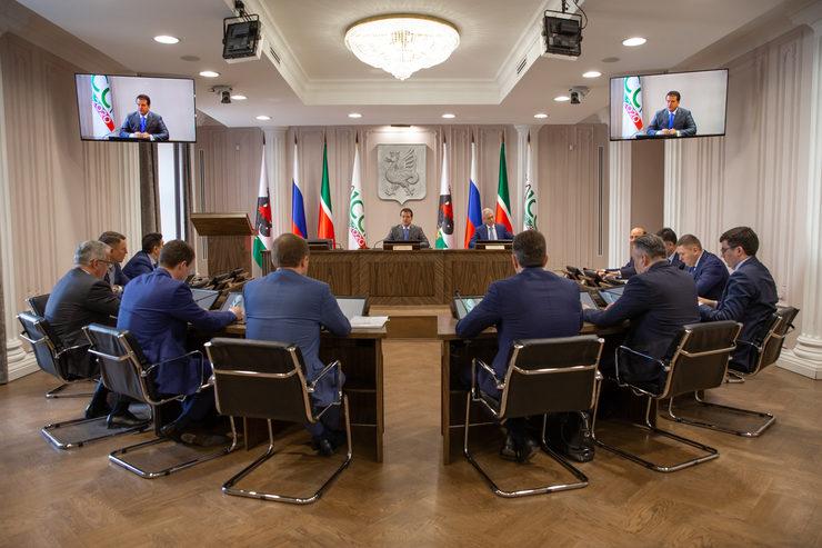 Заседание штаба по противодействию распространению коронавирусной инфекции, 30.03.2020