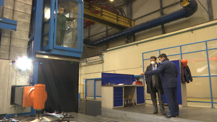 I.Metshin gets acquainted with the compliance of security measures at Kazancompressormash