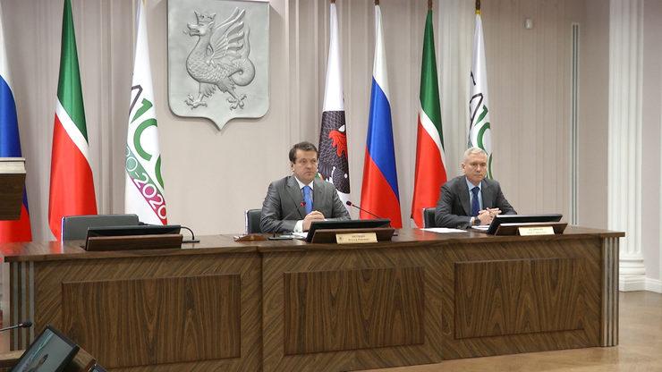 I.Metshin met with the principals of Kazan schools