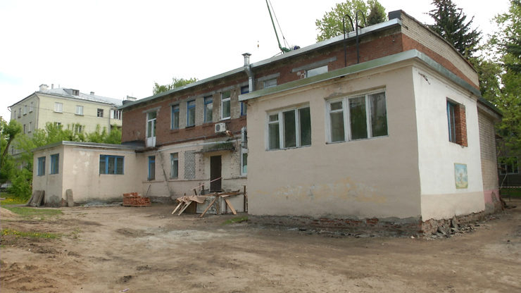 Ilsur Metshin gets acquainted with the overhaul of kindergarten №104