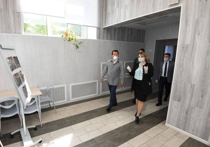 Ильсур Метшин посетил обновленную школу №137