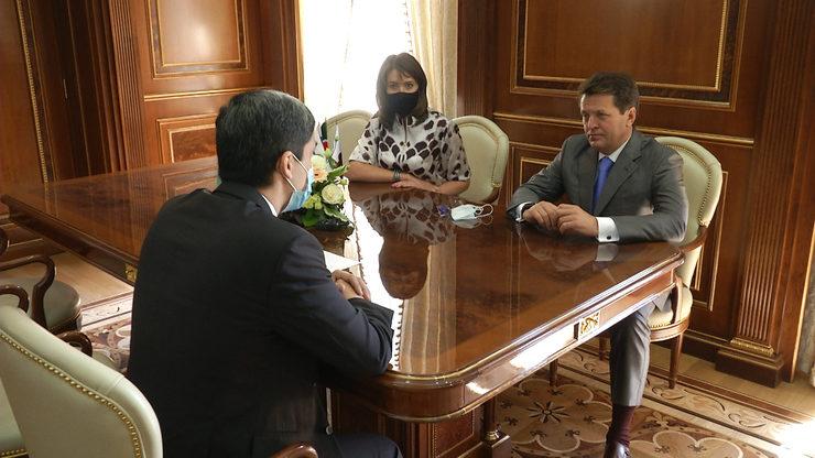 Мэр столицы РТ встретился с Генконсулом Туркменистана в Казани