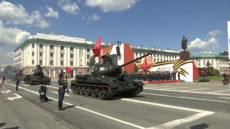 Праздничное мероприятие в честь 75-летия Победы в Великой Отечественной войне