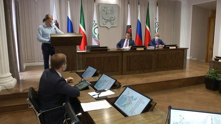 Мэру представили концепцию устойчивого развития исторического поселения Казани