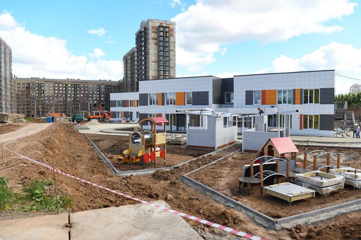 И.Метшин: «Важно, что социальная инфраструктура не догоняет строительство жилья, а возводится параллельно»