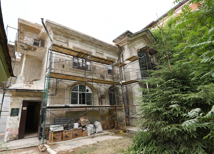 Restoration work started at the mansion of the famous architect Karl Mufke in Kazan