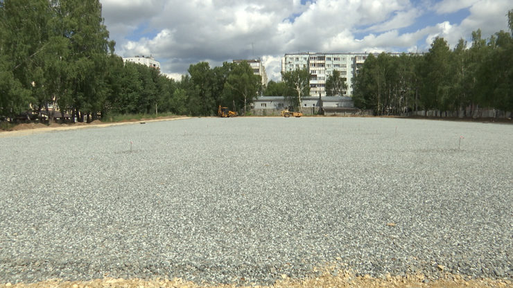 An open-type sports and wellness complex with a large football pitch will open in the Privolzhsky district of Kazan