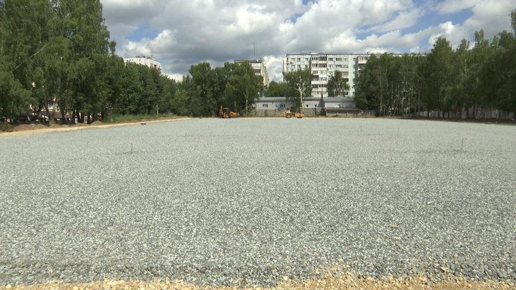 Казанның Идел буе районында зур футбол кыры булган физкультура-сәламәтләндерү комплексы барлыкка киләчәк